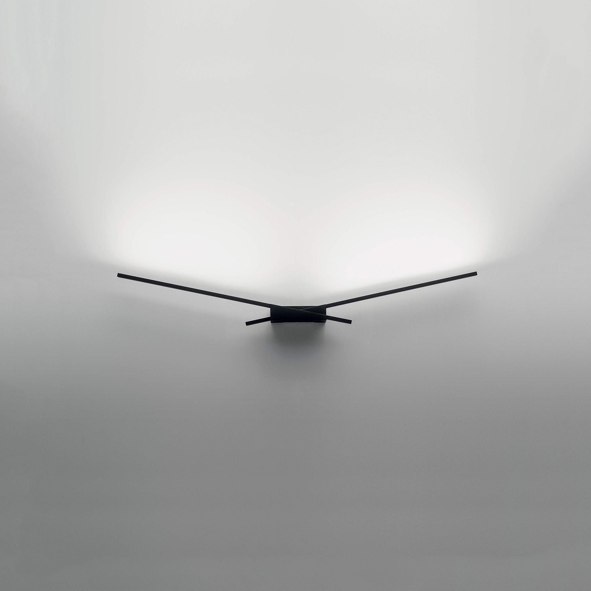 Linea Light S.r.l. Linea LED-Wandleuchte Wings 10W schwarz 7412