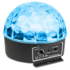 BeamZ Mini Star Ball Sound RGBWA LED 6x3W, Réf. 30404