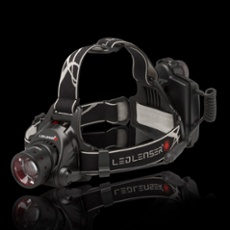 LED LENSER® H14R.2 Head lamp, grey black
