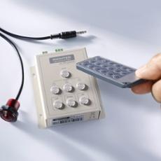 RGB X-IR-DMX Multifunktionscontroller, mit Fernbedienung