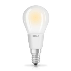 Osram LED RETROFIT DIM P40 5W E14 frosted, Item no. 73441