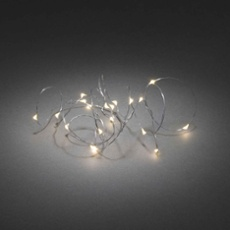 Battery fairy light wire 20 LEDs warmwhite 240cm (20LEDs)
