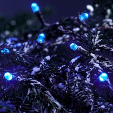 LED fairy light (rope)  blue, 29m (120 LEDs) 29m (120 LEDs)