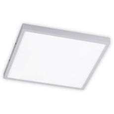 Honsel ceiling light Cassa, square small 30 x 30 cm