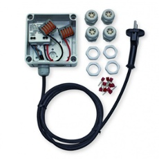 dot-spot power supply set 12V, 6W, IP66, Item no. 43794
