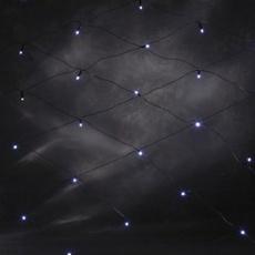 LED Netz 1x1m, 32 LEDs warmweiß