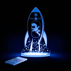 LED Night light Rocket