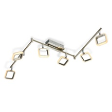ESTO ceiling light NERO 6-flames, Item no. 44009