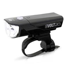 Cateye GVOLT 20 RC HL-EL350GRC LED bike front light, Item no. 31046