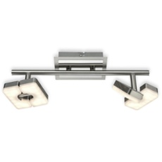 ESTO ceiling light SQUARE 2-flames